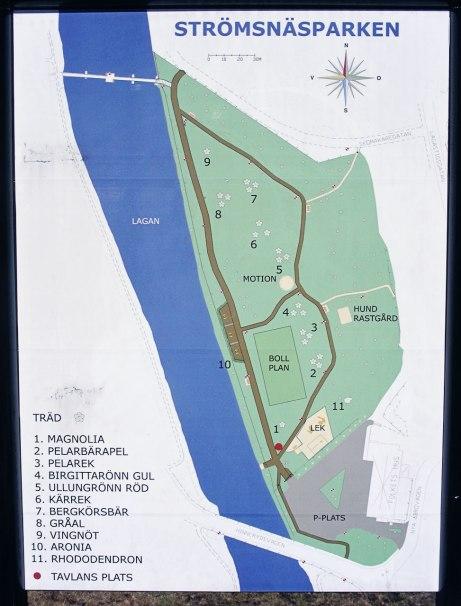 Strömsnäsparken-karta